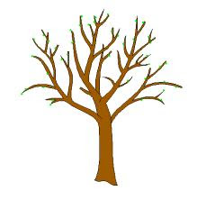 Brown Tree Trunk Clipart.