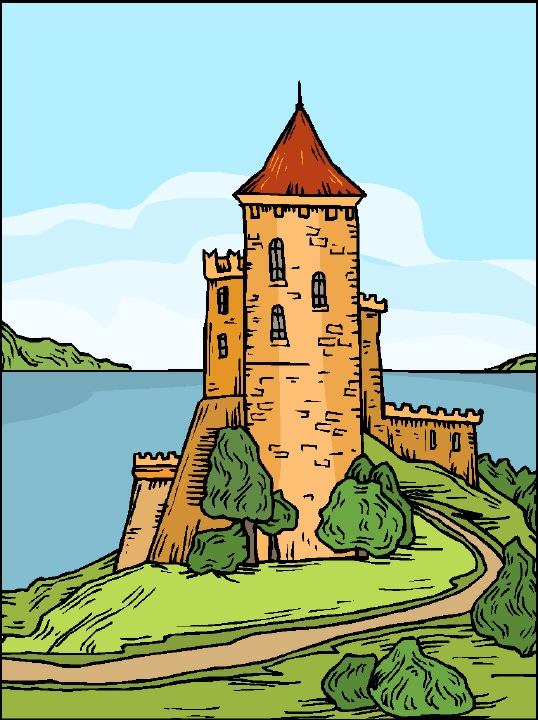 Castles & Churches Clipart Page 1.