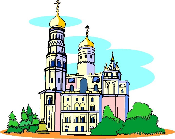 Castles & Churches Clipart Page 6.