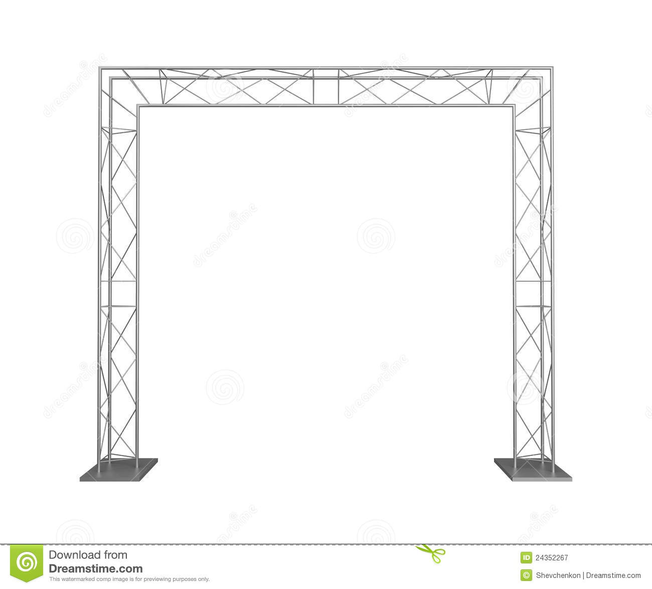 Truss Stock Illustrations.