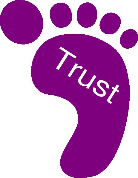 Right Foot Trust Clip Art at Clker.com.