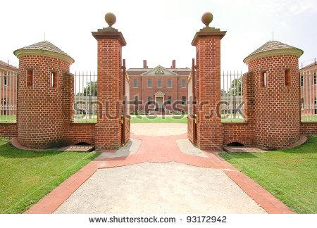 Tryon Palace Stock Photos, Royalty.