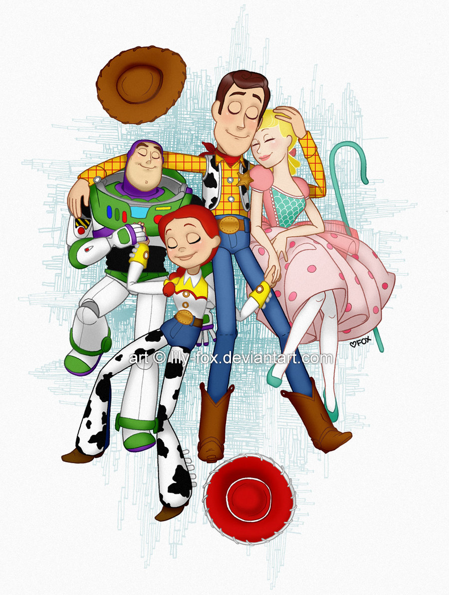 Toy Story favourites by JohannaSparrow on DeviantArt.