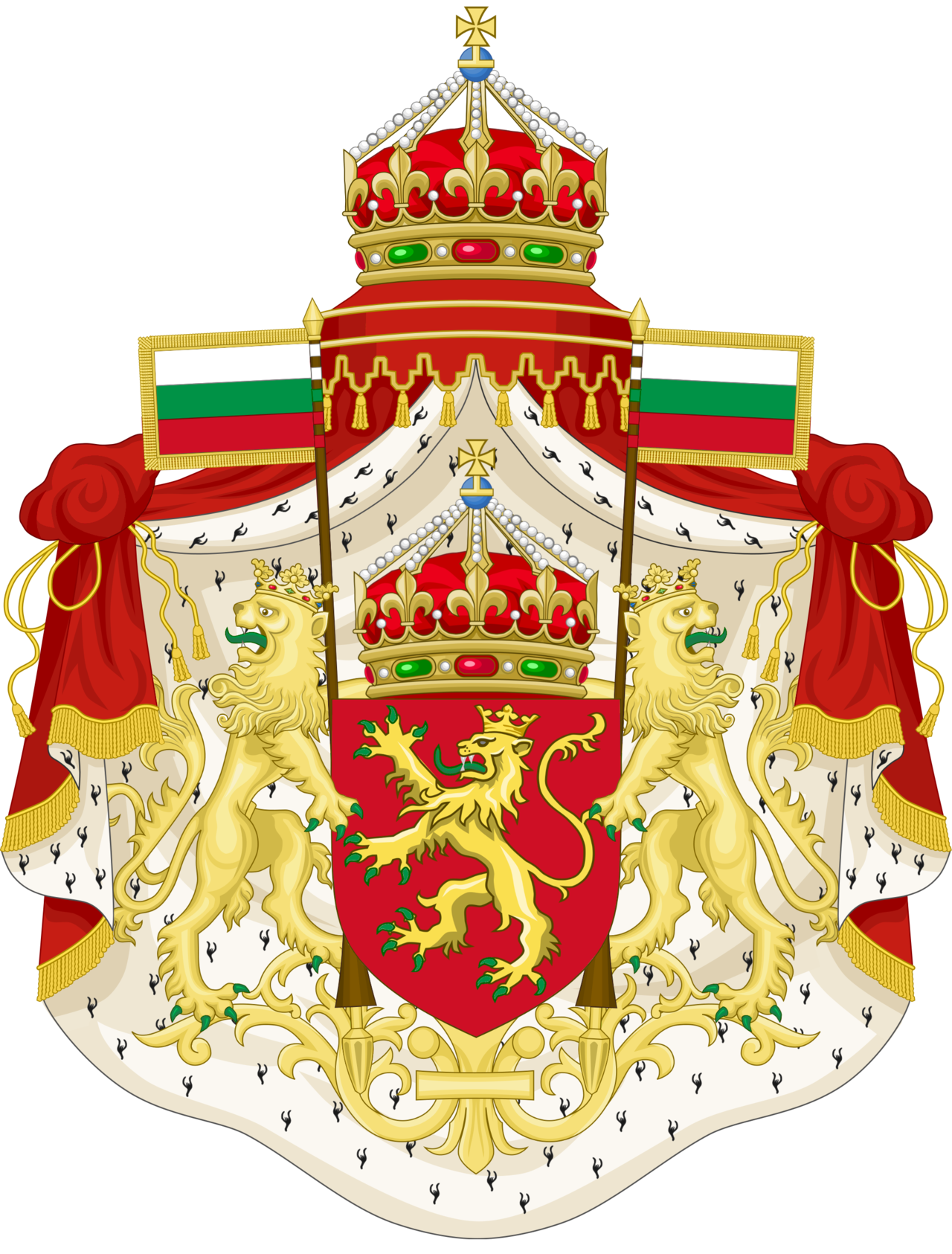 CoA Tsardom of Bulgaria (Consulate) by TiltschMaster on DeviantArt.