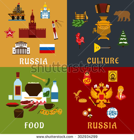 Famous Travel Landmarks Russia Linear Icon Stock Vector 473593258.