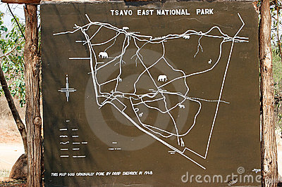 Tsavo East National Park Editorial Image.