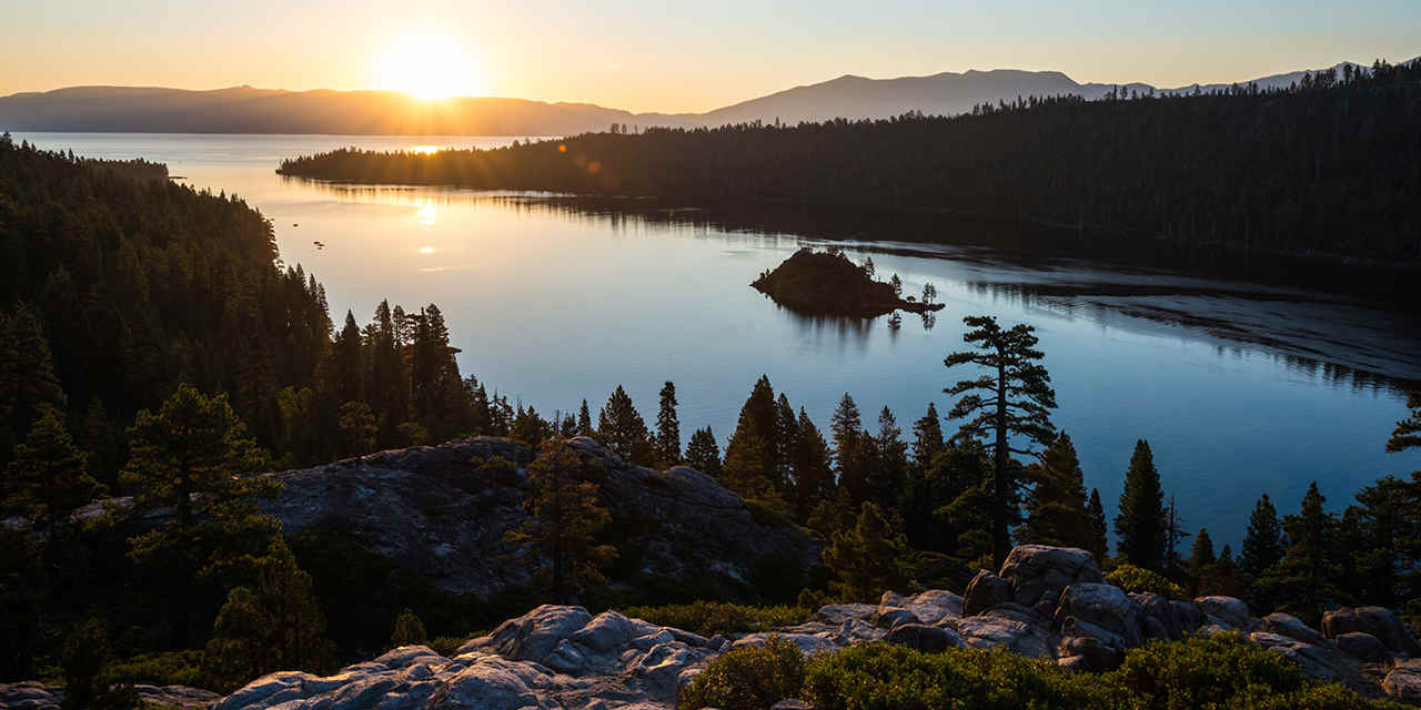 Spotlight: Lake Tahoe.