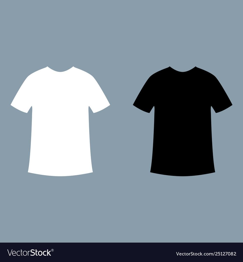 black t shirt mockup.