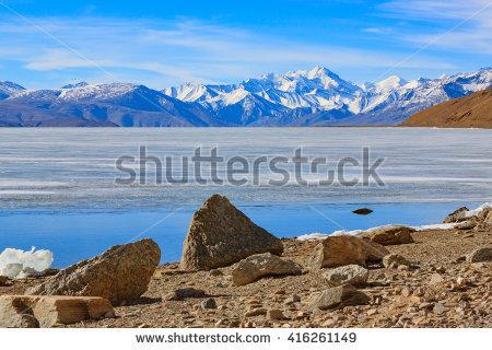 Tso Moriri Lake Stock Photos, Royalty.