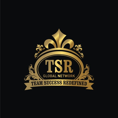 Create a unique, captivating logo for TSR Global Network w.