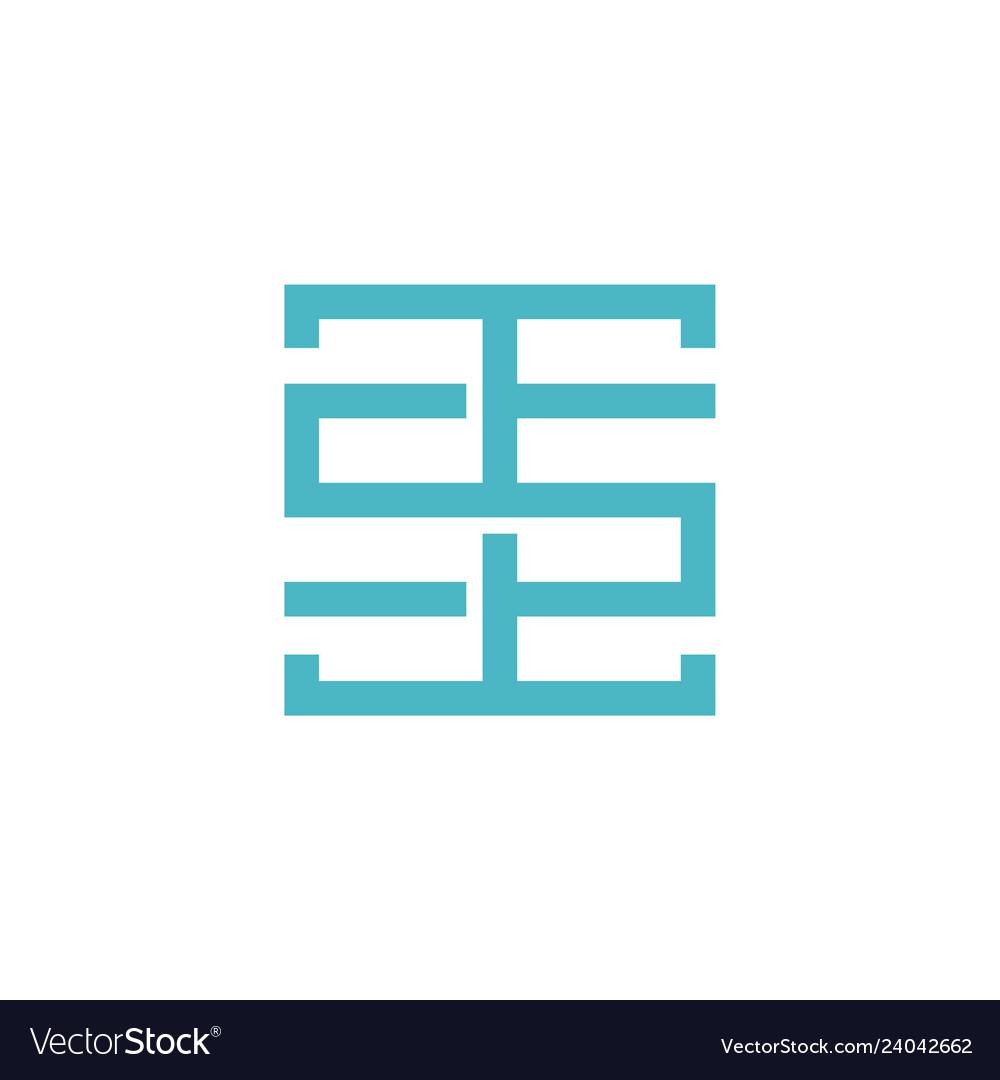 T5t letter tst logo initial.
