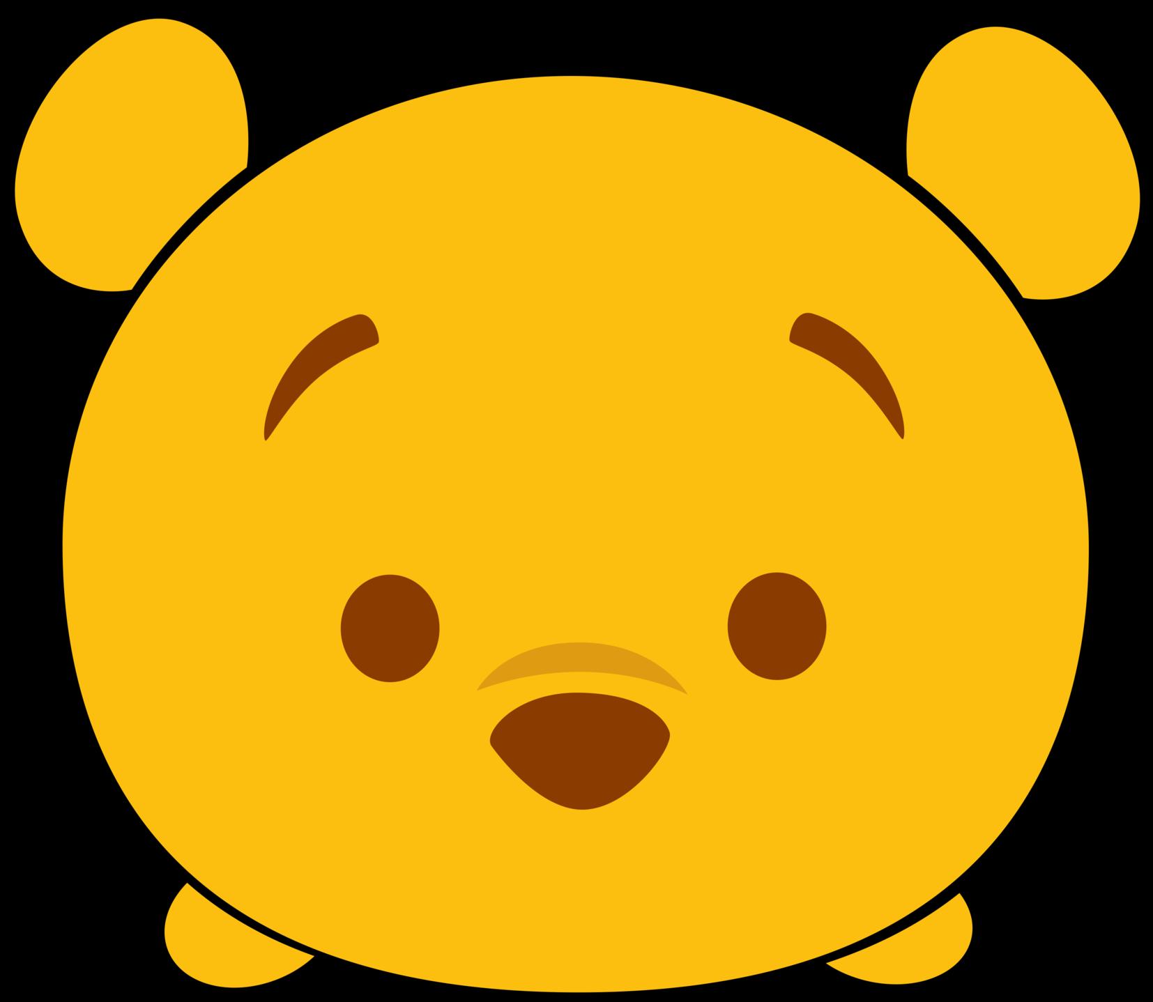 Disney Tsum Tsum Clipart Winnie The Pooh.