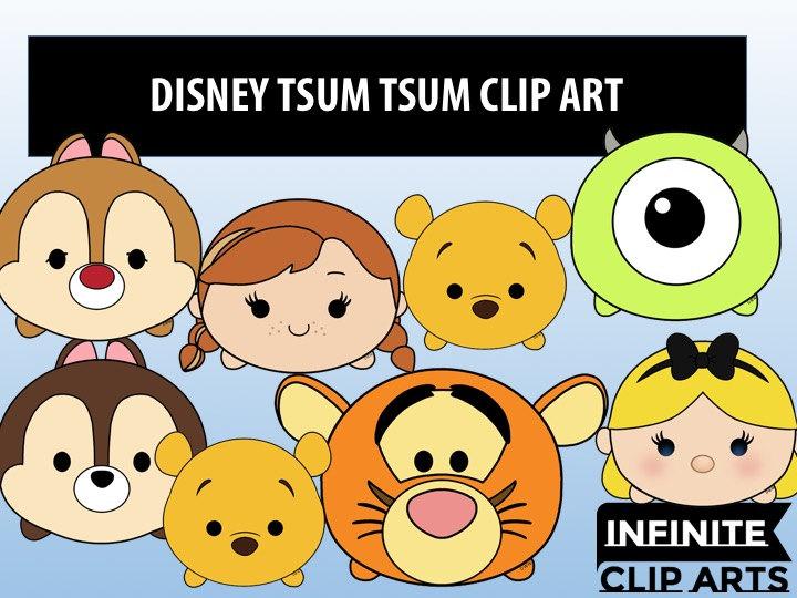 Disney Tsum Tsum Clipart 9: Tsum Tsum Clipart Free
