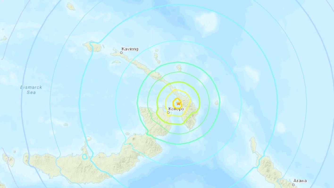 Powerful quake hits Papua New Guinea, tsunami alert issued.