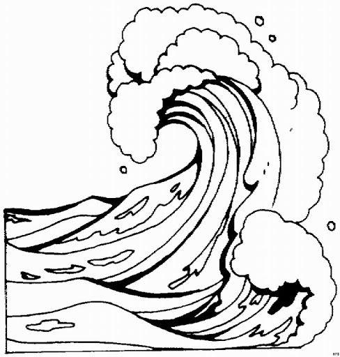 Dibujos Para Colorear De Tsunamis in 2019.