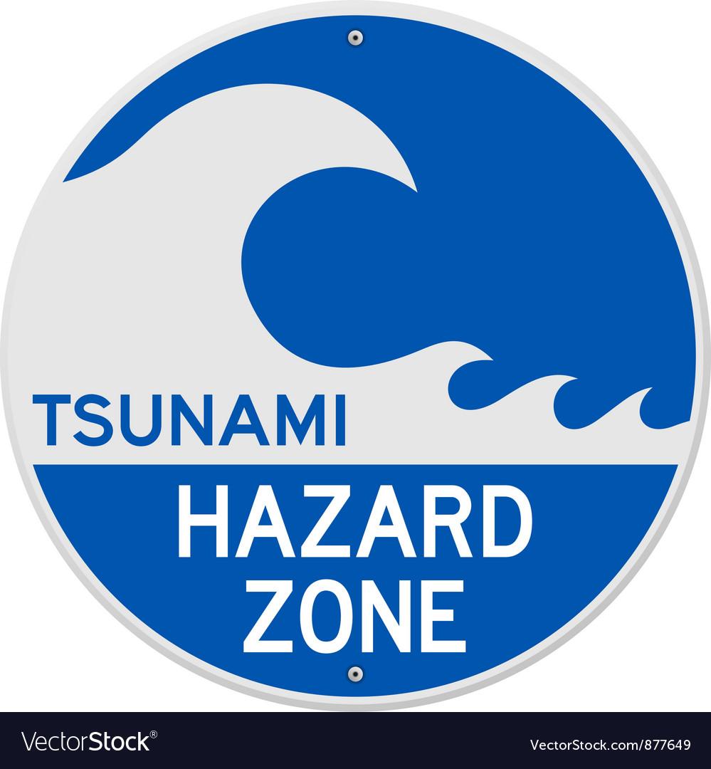 Tsunami Hazard Zone.