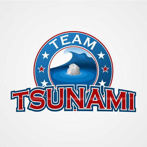 Create the next logo for Team Tsunami.