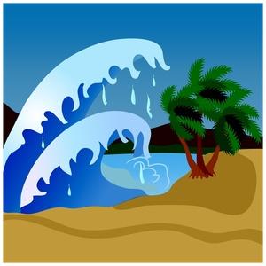 Tsunami Clip Art Free.