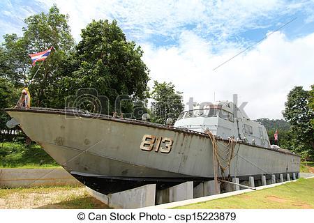 Picture of Tsunami Police Boat 813 Buretpadungkit at Tsunami.