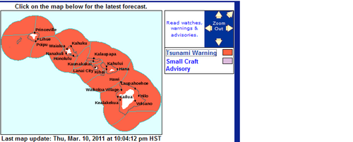 Japan's Katrina: Massive quake/tsunami, US tsunami warnings.