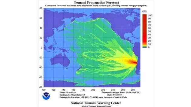 Hawaii Announces Tsunami Precautions, Warnings Lifted in Chile.