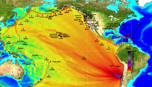 Hawaii Tsunami Warning Cancelled.