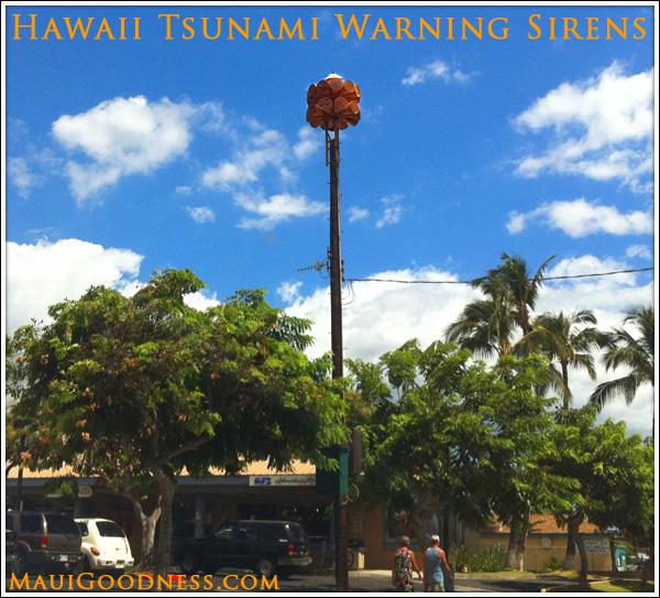 Maui Tsunami Warning System.