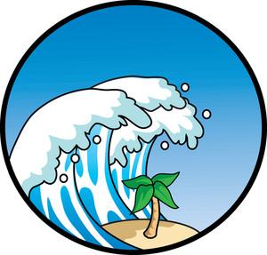 Waves clipart tsunami, Waves tsunami Transparent FREE for.