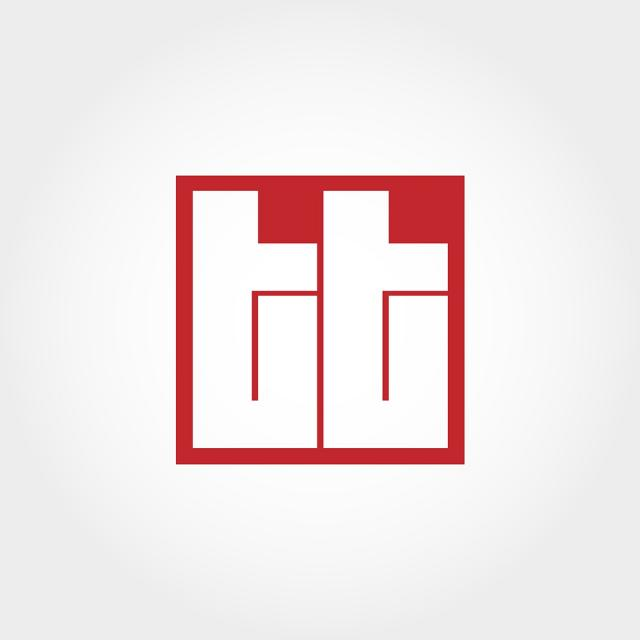 Initial Letter Tt Logo Template Template for Free Download.