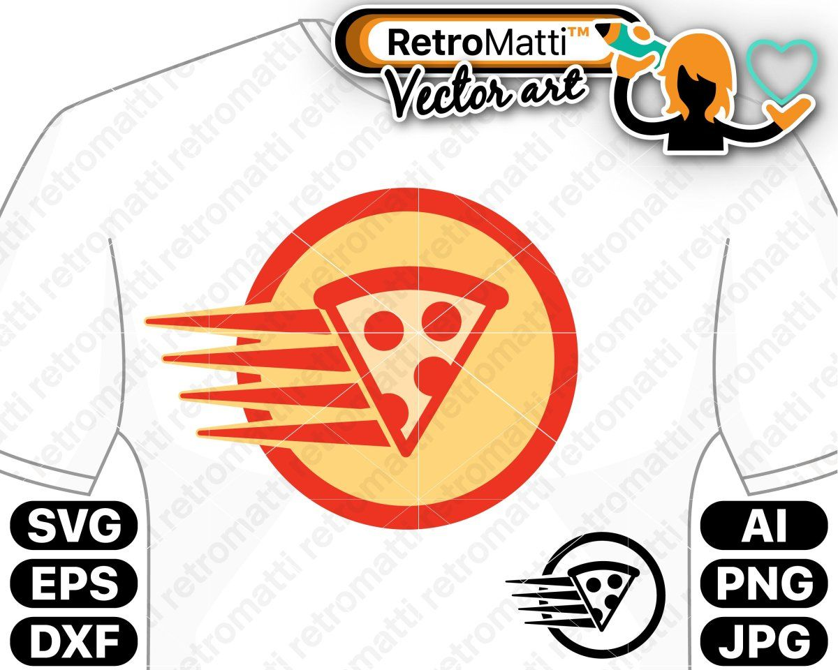 Pizza Delivery SVG.