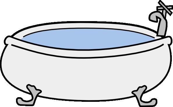 Monicams Bathtub clip art (105737) Free SVG Download / 4 Vector.
