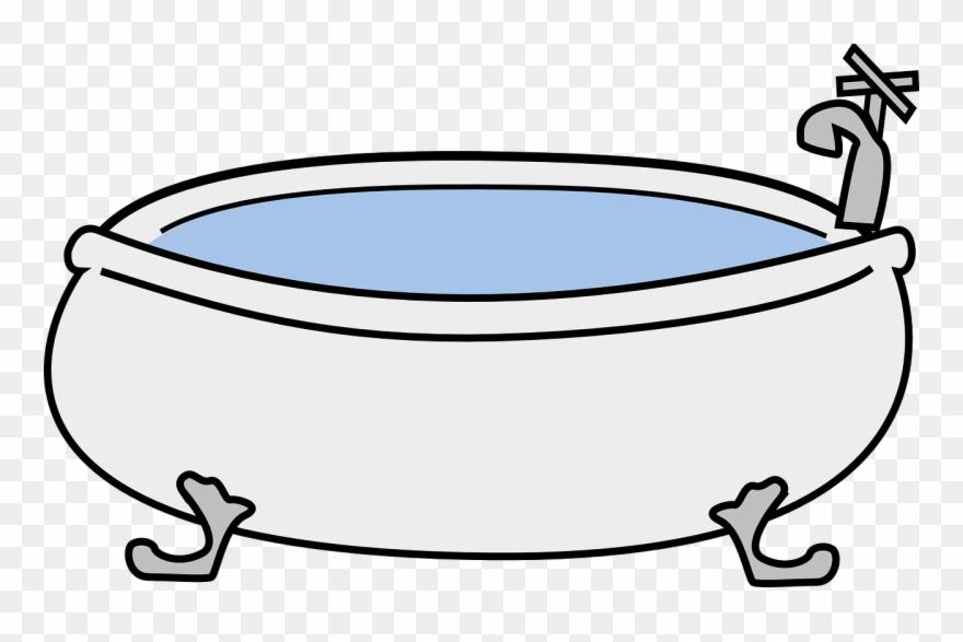 Bathtub Bathroom Hot Tub Download Sticker.