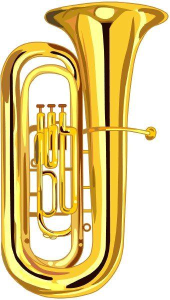 Tuba clip art.