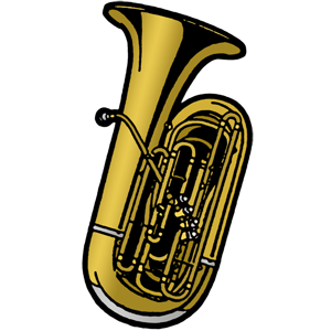 Tuba free music graphics stepwise ations materials for band.