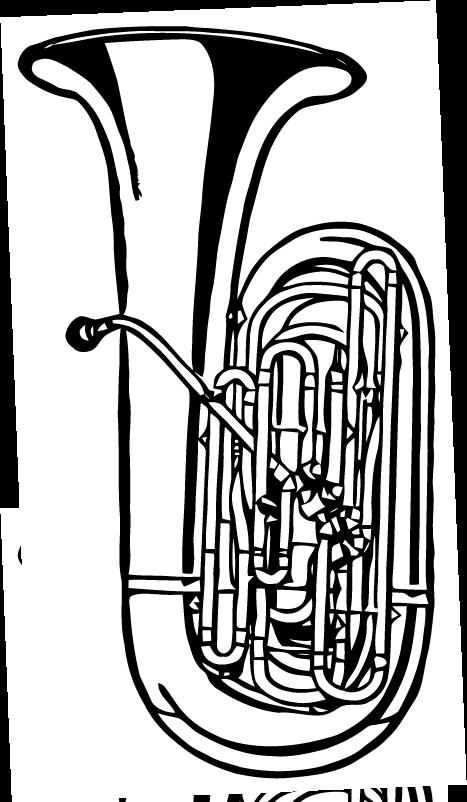 Free Vector Art: Tuba.