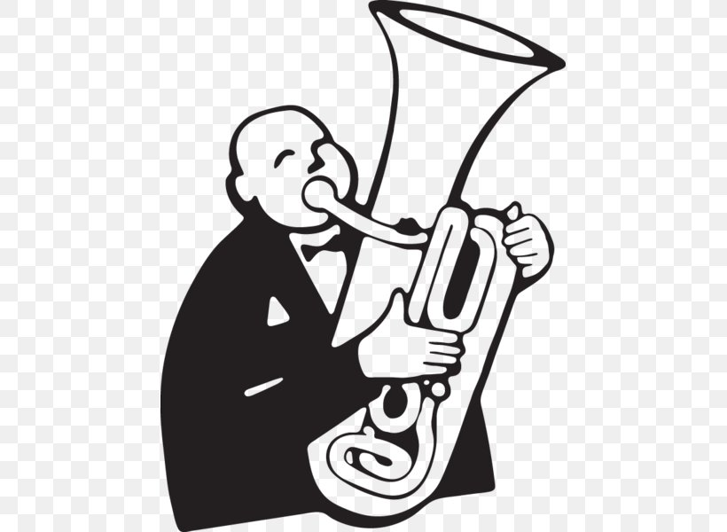 Tuba Player Drawing Clip Art Cartoon, PNG, 457x600px, Tuba.