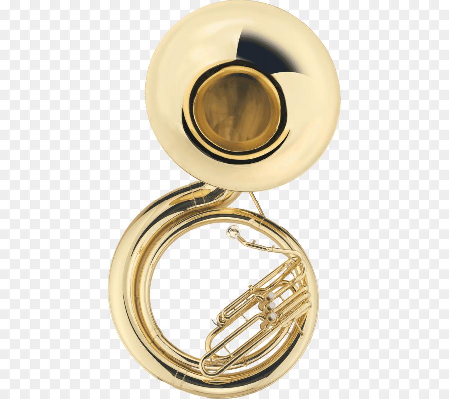 Sousaphone Brass Instruments Tuba Trumpe #56673.