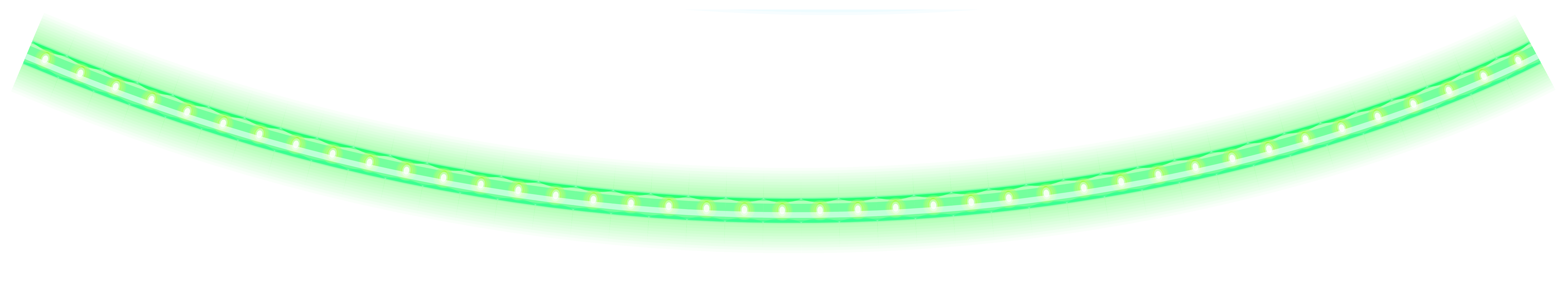 Green Glowing Christmas tube PNG Clipart.