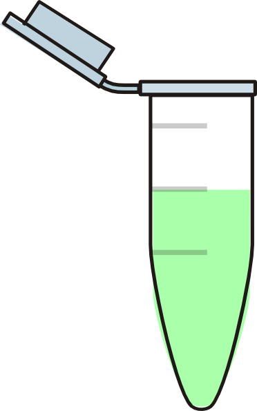 1ml Eppendorf Tube (light Green) Clip Art at Clker.com.
