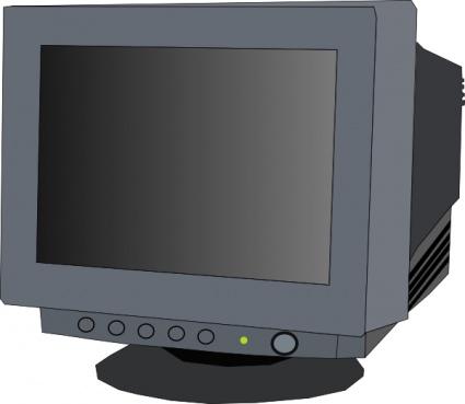 Crt Monitor Clipart.