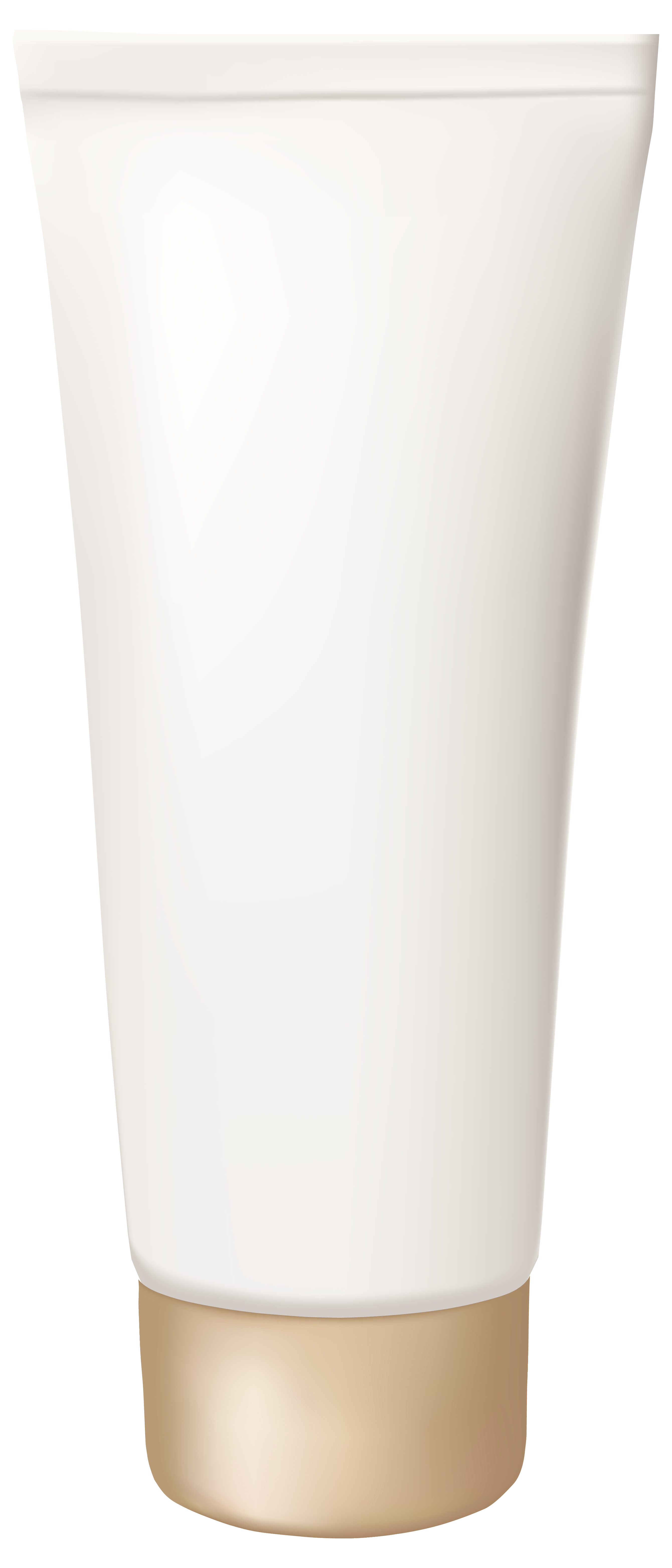 Cream Tube PNG Clipart Image.
