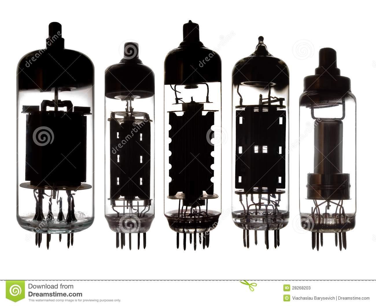 Vacuum tube clipart.