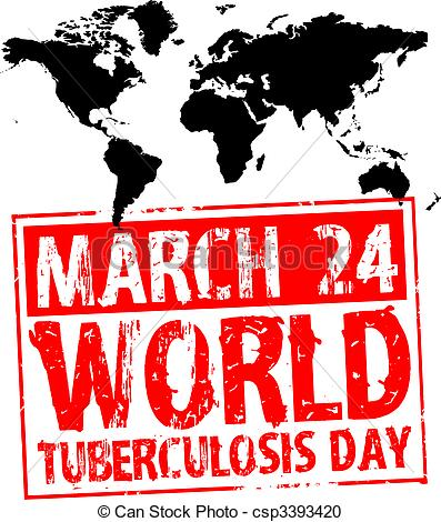 Vectors Illustration of World tuberculosis day 24 march. Human.