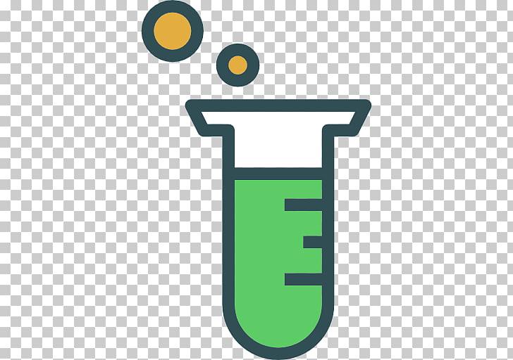 Tubos de ensayo laboratorio tubo computador iconos química.