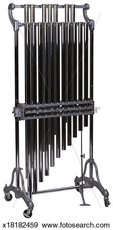 Stock Photograph of Tubular Bells/Chimes x18182459.