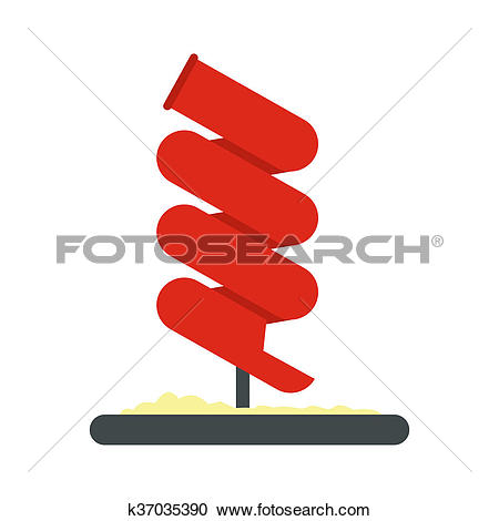 Stock Illustrations of Tubular slide icon k37035390.