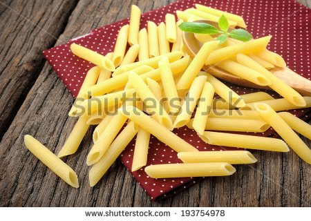 Tubular Pasta Stock Photos, Royalty.