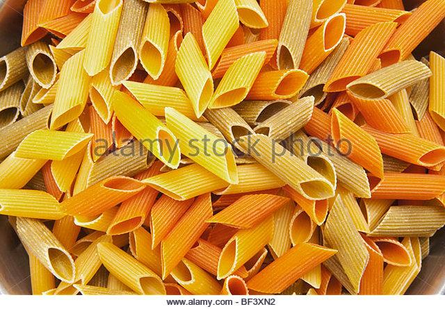 Close Up Raw Tubular Pasta Stock Photos & Close Up Raw Tubular.