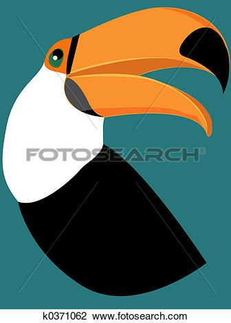 Clip Art of Tucano k0371062.