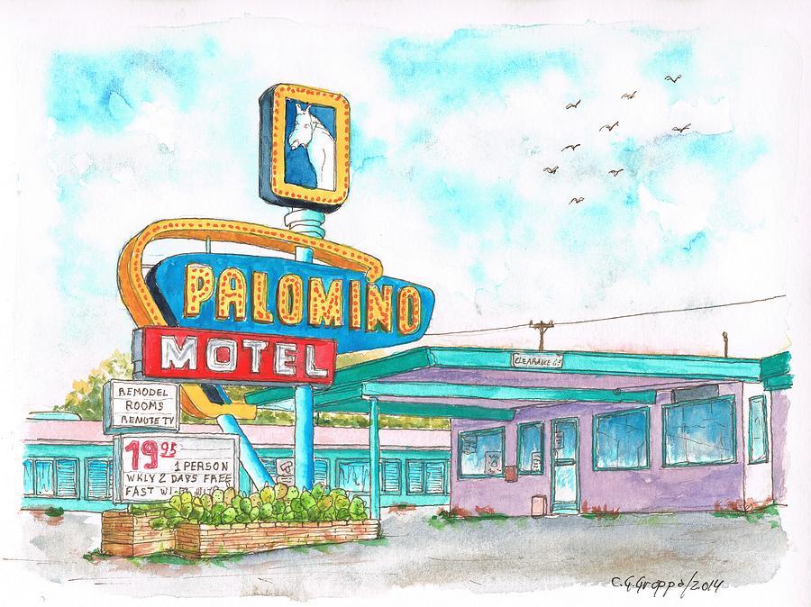 Palomino Motel In Route 66, Tucumcari, New Mexico by Carlos G.